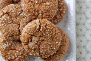 Sugar Sparkled Gingersnaps